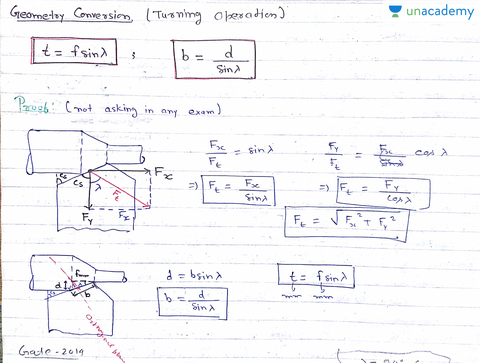 Turning operation oblique cutting in hindi hindi production turning operation oblique cutting in hindi hindi production 2 analysis of metal cutting unacademy ccuart Choice Image