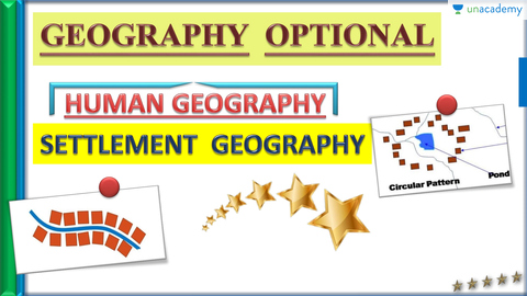 (Hindi) Settlement Geography - Geography Optional for UPSC CSE