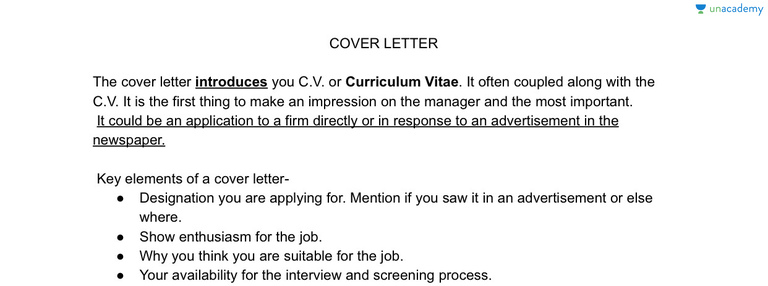 Availability In Cover Letter