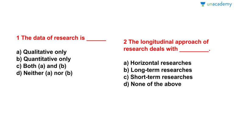 research methodology mcq for phd entrance exam