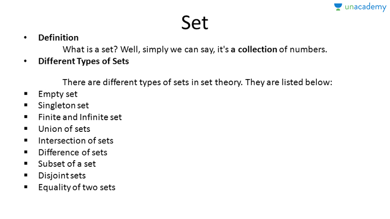 Singleton Set Definition, Properties And Examples (in Hindi) | (Hindi) Set  Theory In Algebra   Unacademy