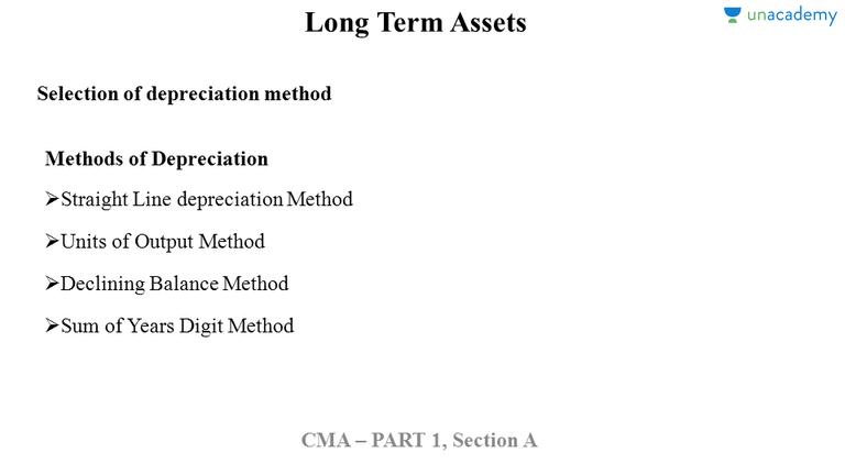 straight line depreciation method