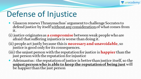 glaucon vs thrasymachus essay example Glaucon's definition of justice from plato's republic also, courage is examined in a similar context a definition of justicein this paragraph glaucon, who has taken up the argument from thrasymachus, makes his definition of justice.