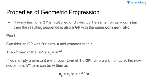 Geometric Progression  Formulas And Solved Examples  Understanding