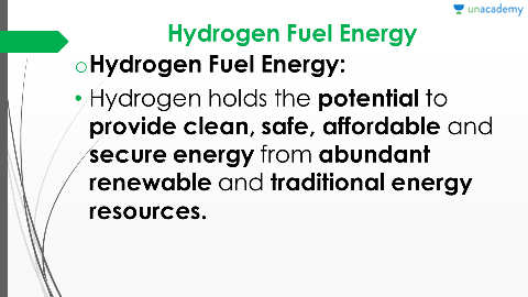 hydrogen as a source of energy essay Free essay on hydrogen fuel available totally free at echeatcom hydrogen is a colorless, odorless hydrogen fuel as a renewable energy source.