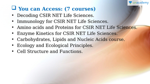 Life Sciences | CSIR-UGC NET | UGC NET & TET Exams | Test