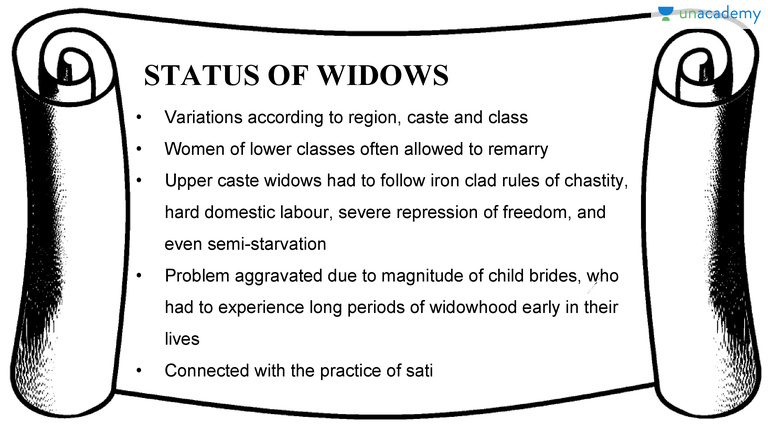 Can a widow remarry