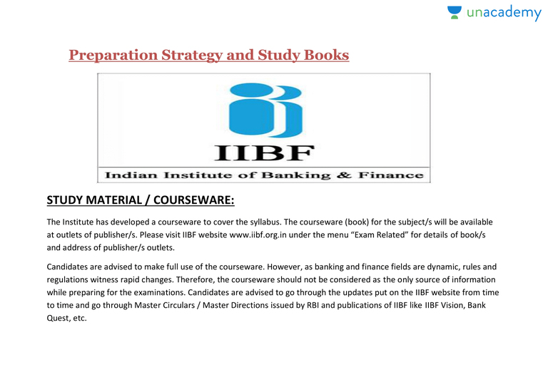 Accounting Book Study Study Material For Jaiib - Online ...