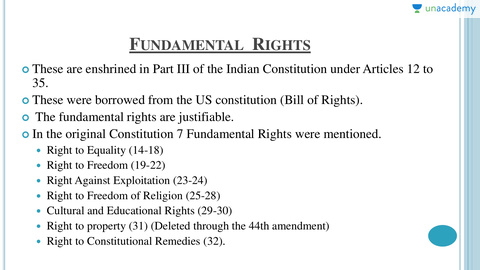 which has become a legal right under 44th amendment