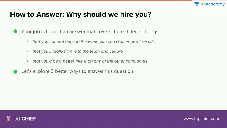why should i hire you answers thevillas co