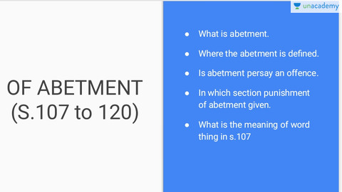 meaning of abetment