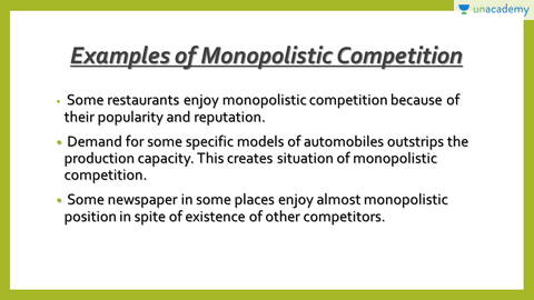 Monopolistic Market In Hindi Hindi Forms Of Market Ssc Cgl