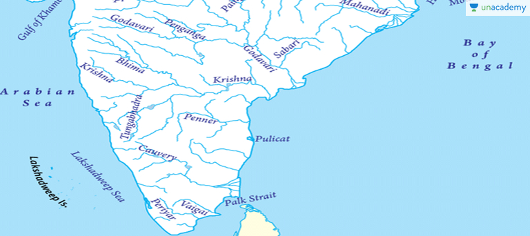 Peninsular River System in Hindi Hindi UPSC Geography Indian