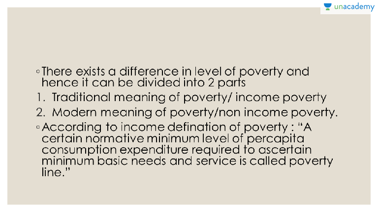 Poverty meaning in hindi