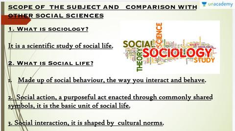 Origin Nature And Scope Of Sociology In Hindi Hindi Sociology