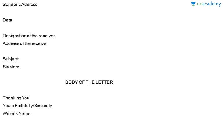 complain letters