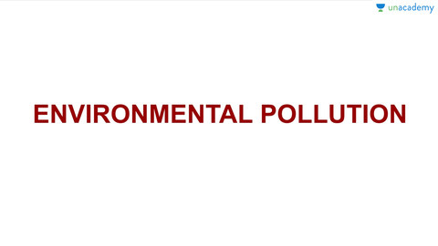 (Hindi) Environmental Pollution : Chemistry for SSC