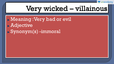 Word to use instead of 'very wicked' 'very eager' and much more