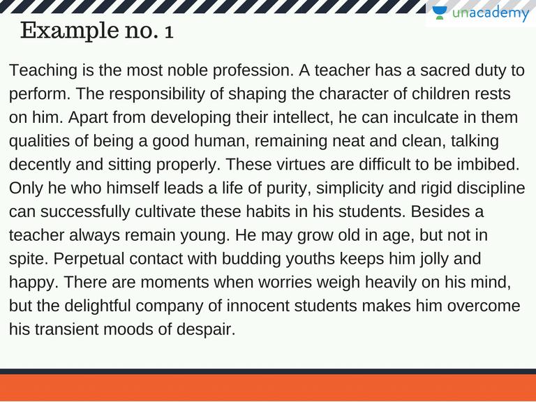 precis writing examples