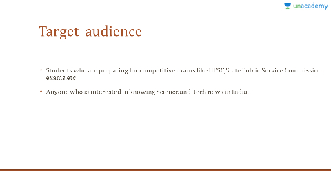 Status of Science and Technology in India (for UPSC CSE