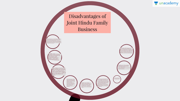 Disadvantages of family business