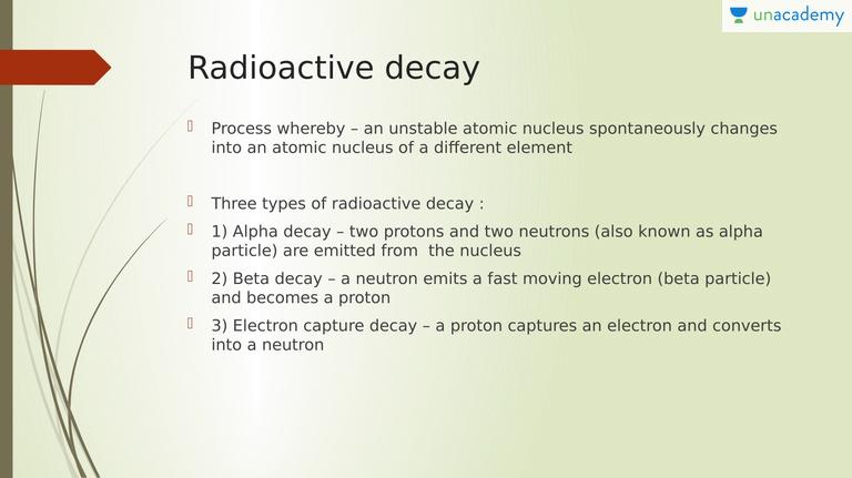 3 fakta om radiometrisk dating