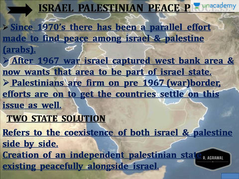 the importance of the issue of the conflict of palestine
