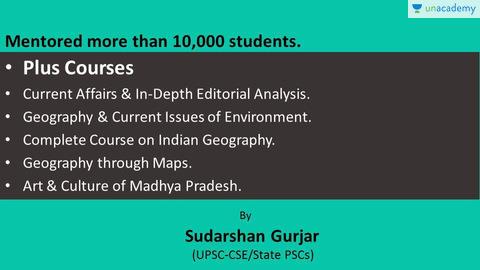 Sudarshan Gurjar - Unacademy