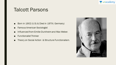 parsons social action