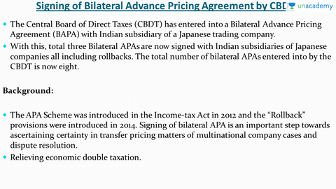 Advance Pricing Agreement Cbdt Indias Rising Income Inequality