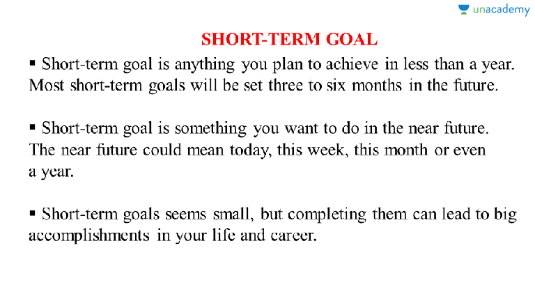What Is Your Short Term Goal? (in Hindi) | (Hindi) Commonly Asked Questions  On Career Related Plans In An Interview   Unacademy