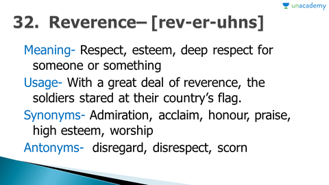 Synonyms and antonyms - words (31-35)