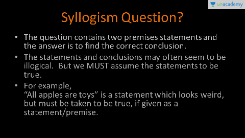Reasoning Concept Of Syllogism For Ssc Cgl Unacademy