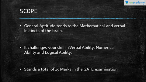 General Aptitude for Competitive Exams